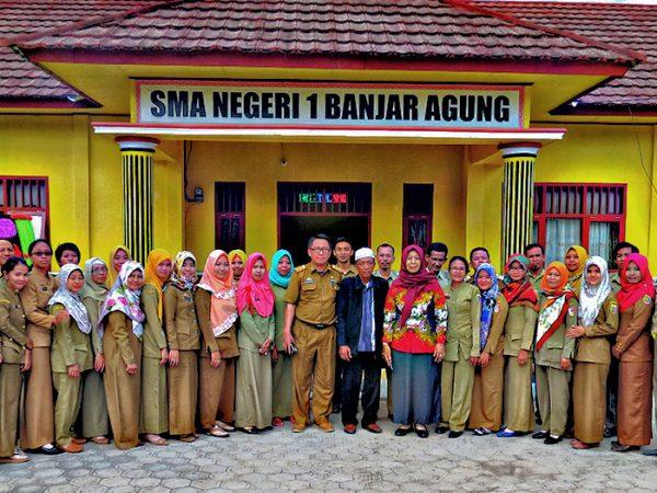 Rapat Guru SMAN 1 Banjar Agung