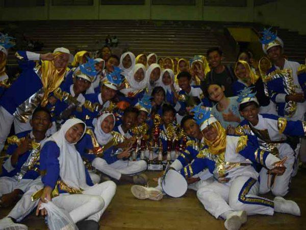Juara Drumb Band Se-Sumatera Bagian Selatan