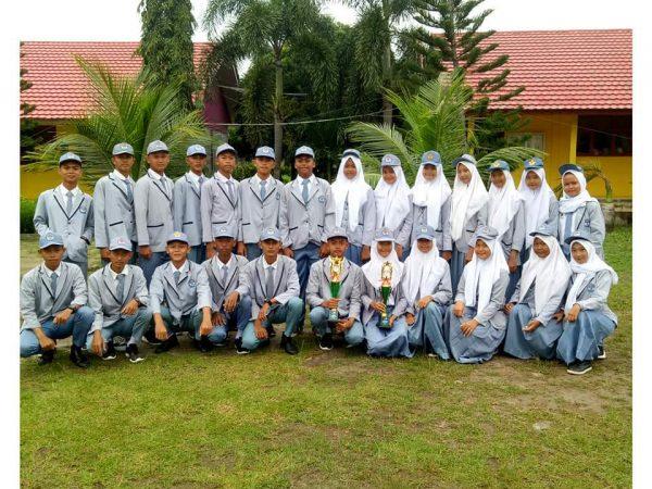 Juara 2 Putra dan Juara Harapan 1 Putri Lomba SMALAN BANDAR LAMPUNG TINGKAT SMA Provinsi Lampung Tahun 2020