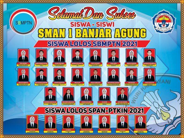 SISWA SISWI LOLOS SBMPTN 2021